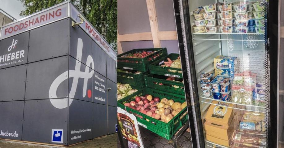 Supermarkt verschenkt aussortierte Lebensmittel in Foodsharing-Boxen